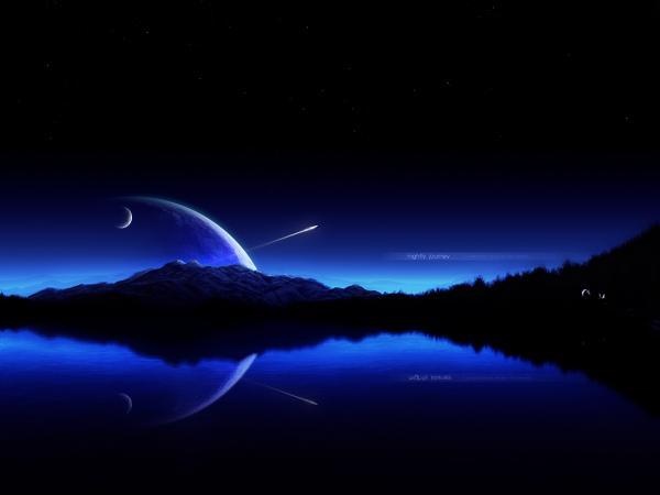 Luna Sul Mare Immagini E Foto Gratuite